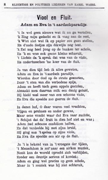 oudste volkslied van de wereld